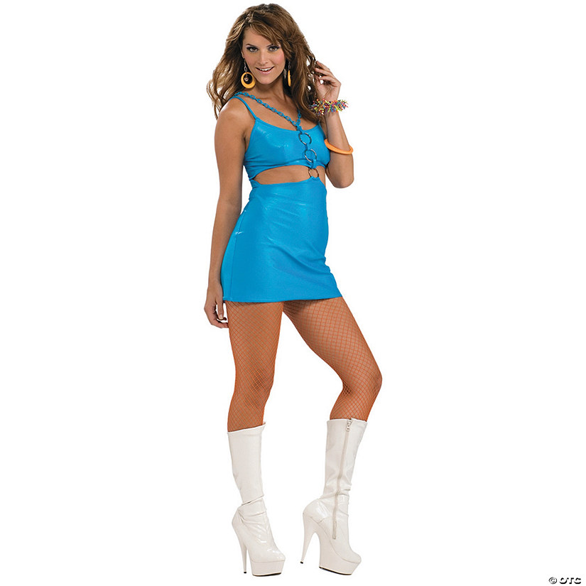 Women's Polly Go Brightly 60s Costume