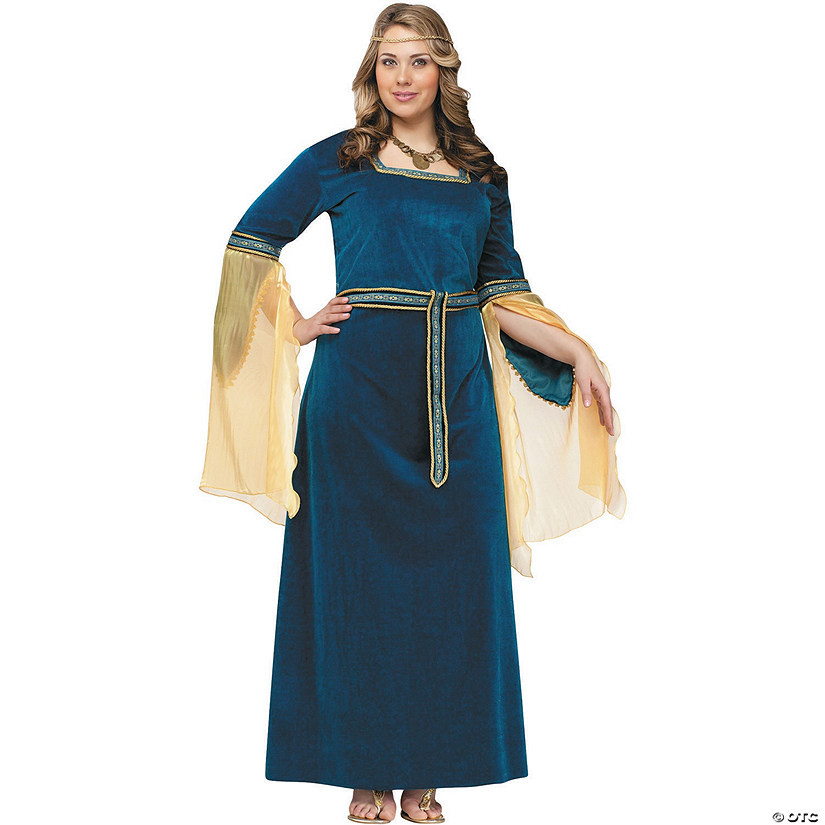 Women's Renaissance Princess Costume Audio Thumbnail