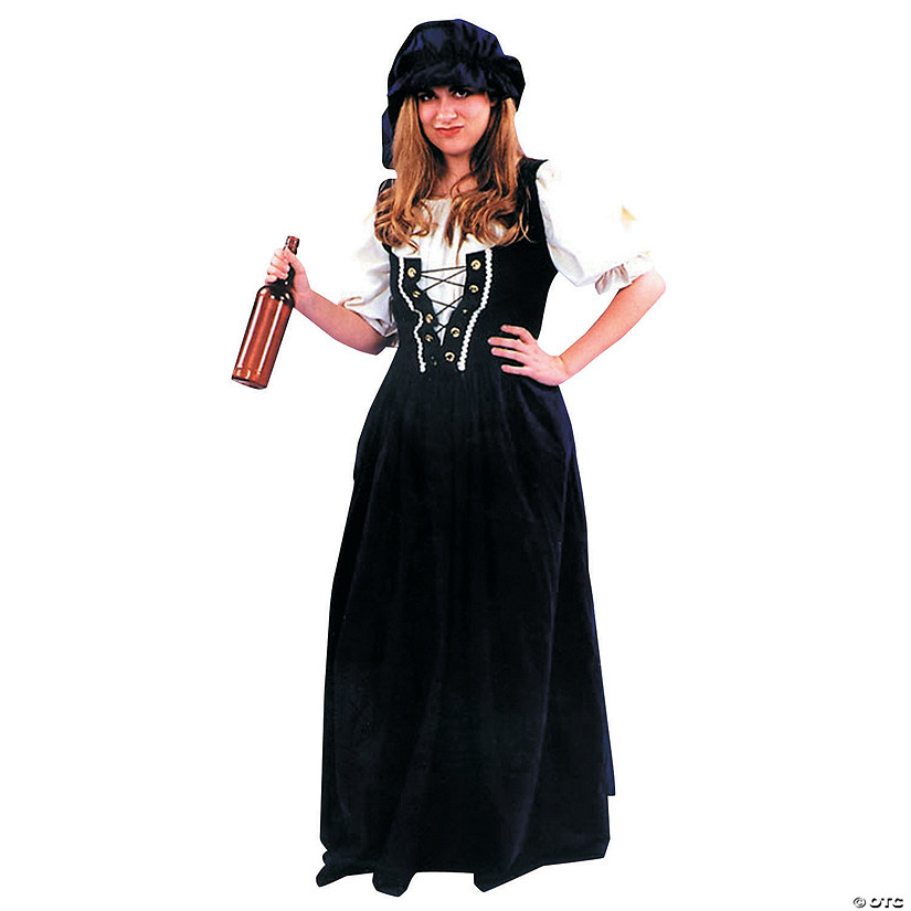 Women's Renaissance Skirt & Hat Costume