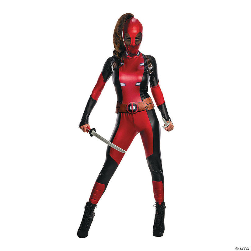 Women's Secret Wishes Deadpool™ Costume Audio Thumbnail