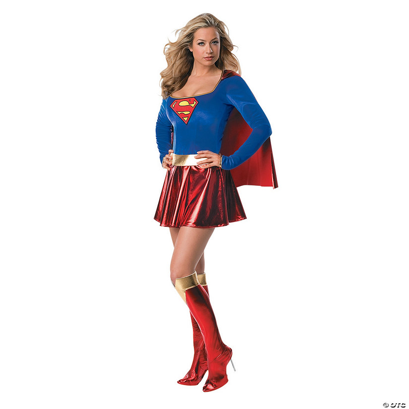 Women's Secret Wishes Deluxe Supergirl™ Costume Audio Thumbnail