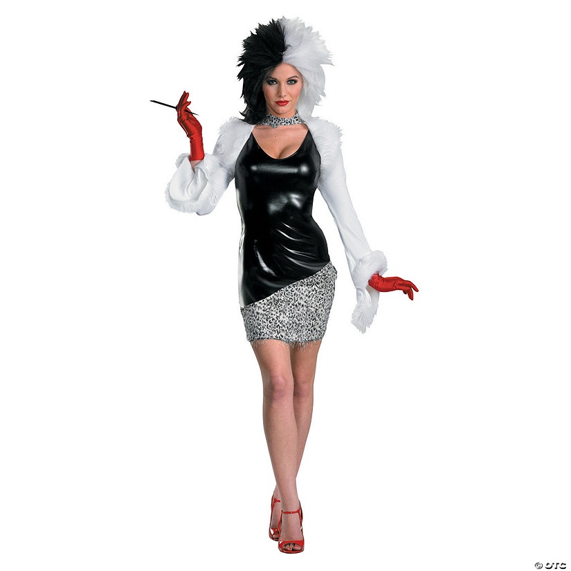 Women's Sexy 101 Dalmations™ Cruella Deville Costume Audio Thumbnail