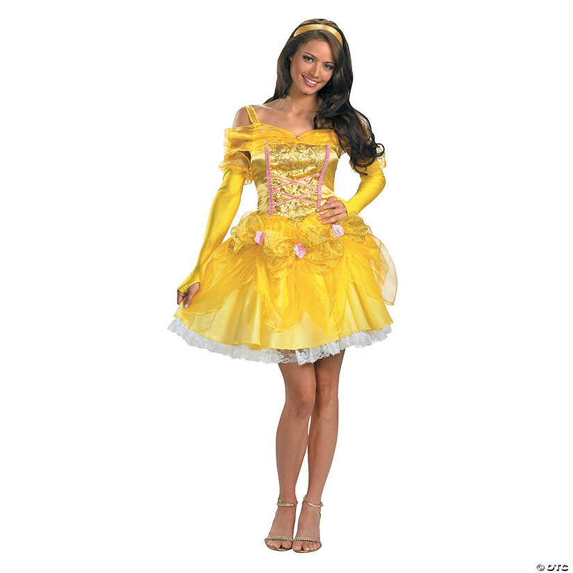 Women's Sexy Beauty & the Beast™ Belle Costume