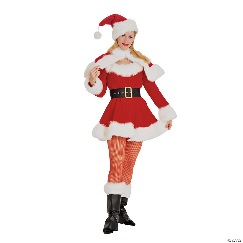 Women's Sexy Miss Santa Costume Audio Thumbnail