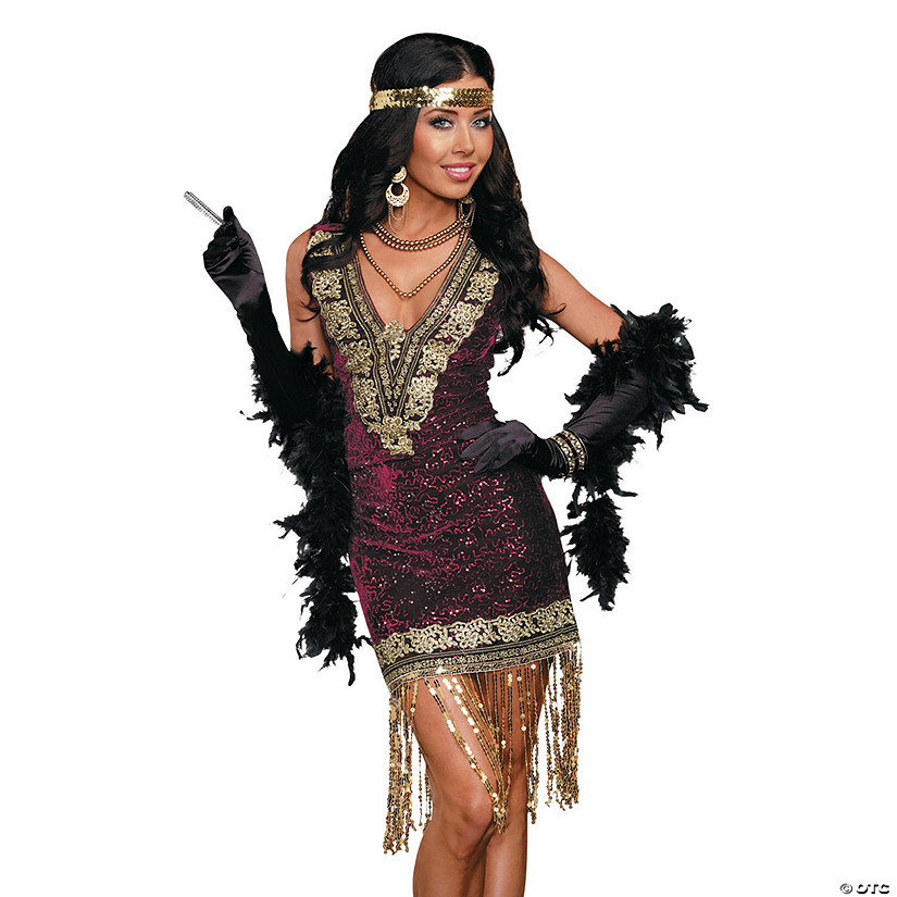 Women's Sophisticated Lady Flapper Costume