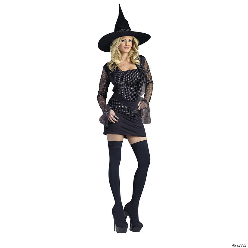 Women's Sparkle Witch Costume