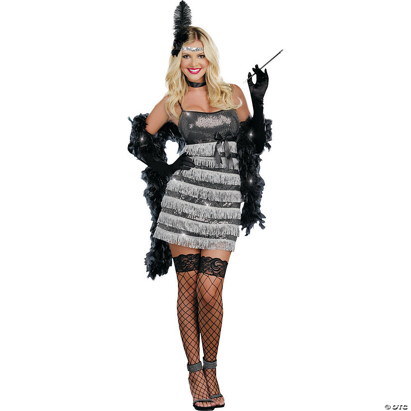 Women's Speak Easy Vixen Flapper Costume Audio Thumbnail