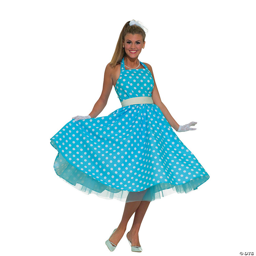 Women's Summer Daze 50s Dress Costume Audio Thumbnail