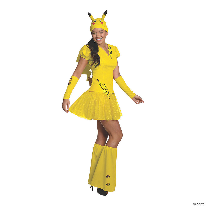 Women's Tutu Pokémon™ Pikachu Costume Audio Thumbnail