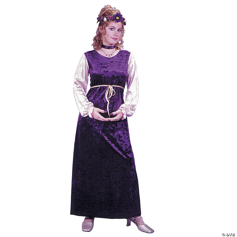 Women's Velvet Harvest Princess Costume