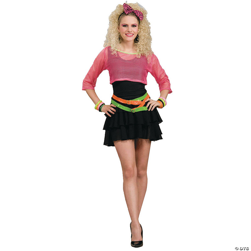 Women's 80s Groupie Costume - Standard