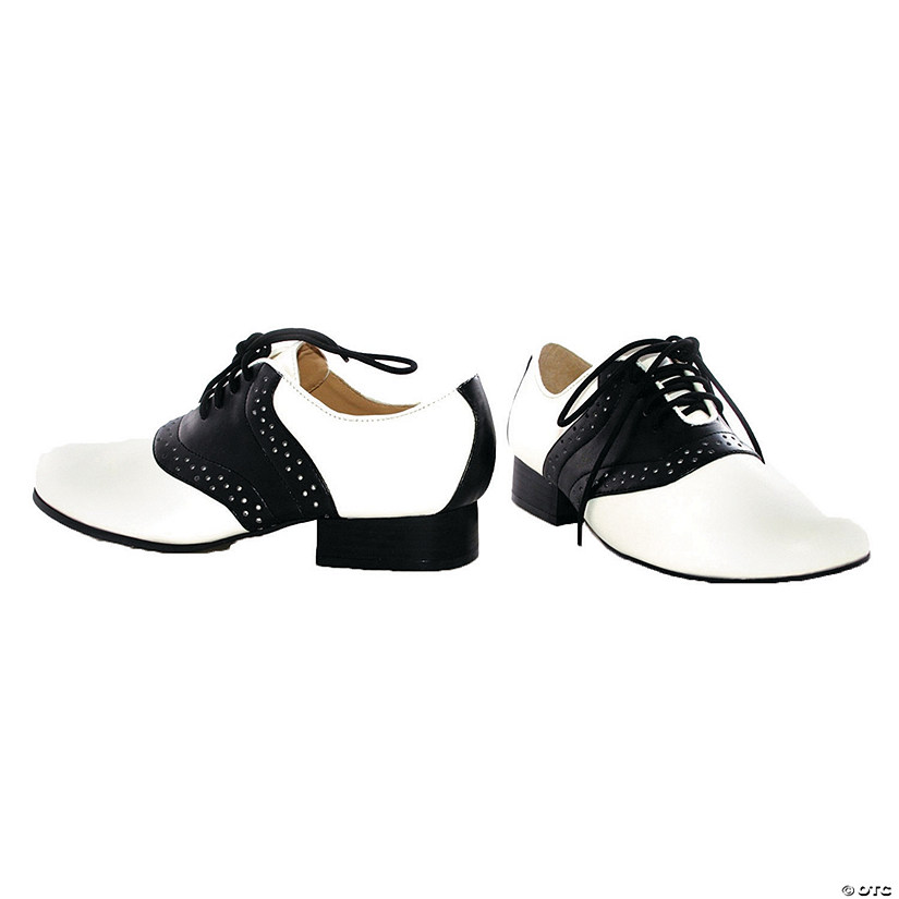 Women's Black & White Saddle Shoes Audio Thumbnail