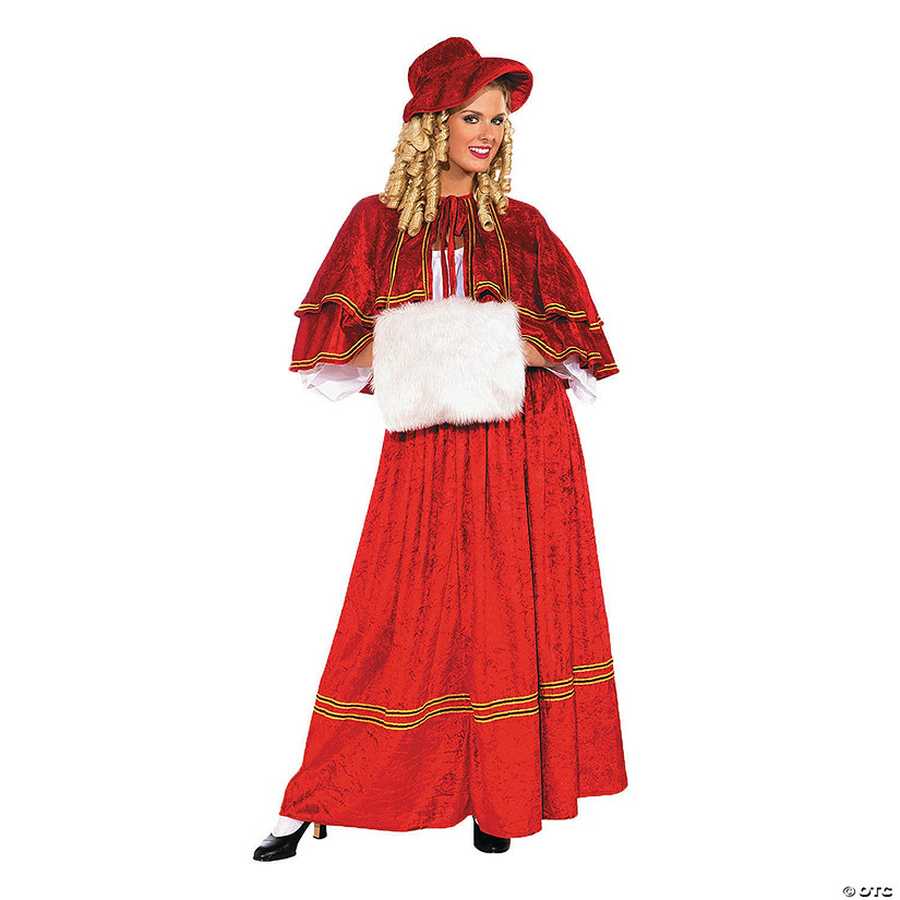 Women's Christmas Caroler Costume - Medium Audio Thumbnail