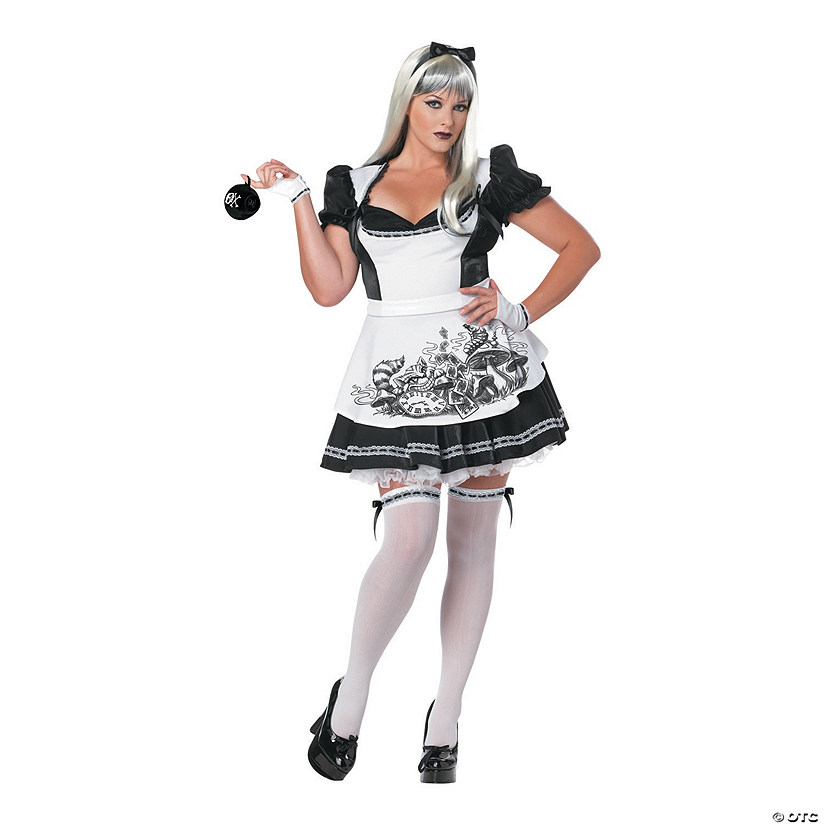 Women's Dark Alice in Wonderland Costume Audio Thumbnail