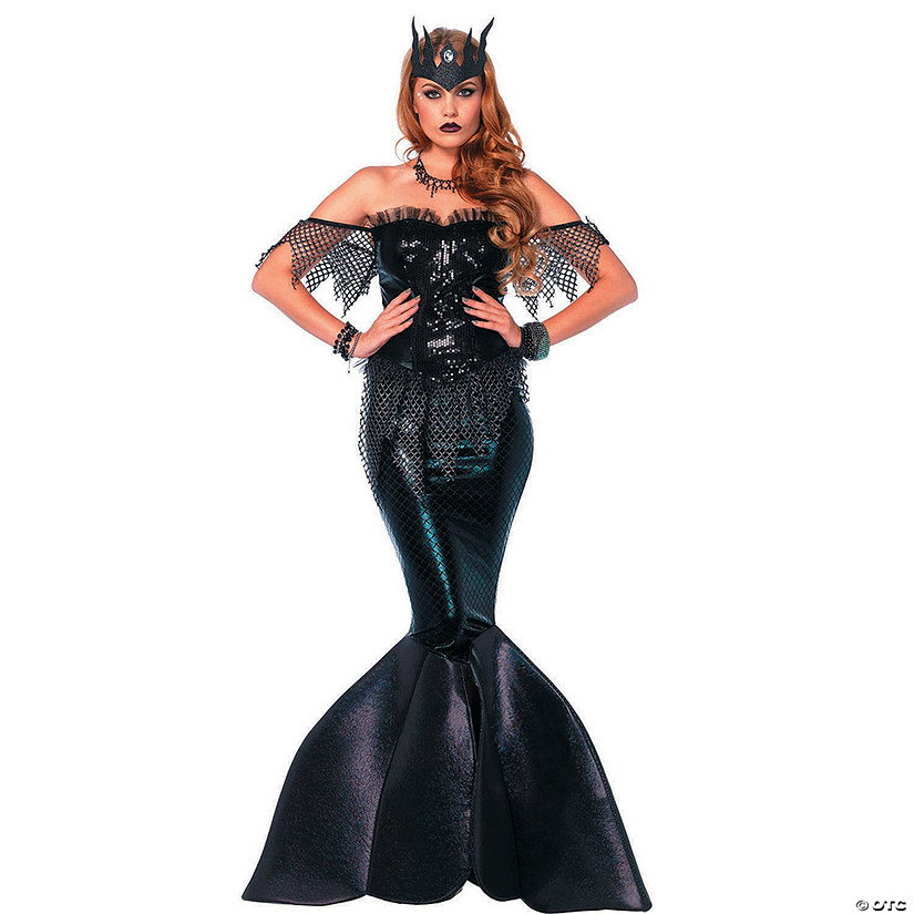 Women's Dark Water Siren Mermaid Costume Audio Thumbnail