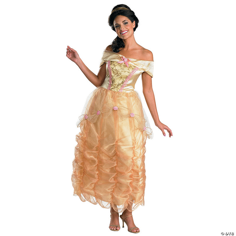 Women's Deluxe Belle Costume - Small Audio Thumbnail