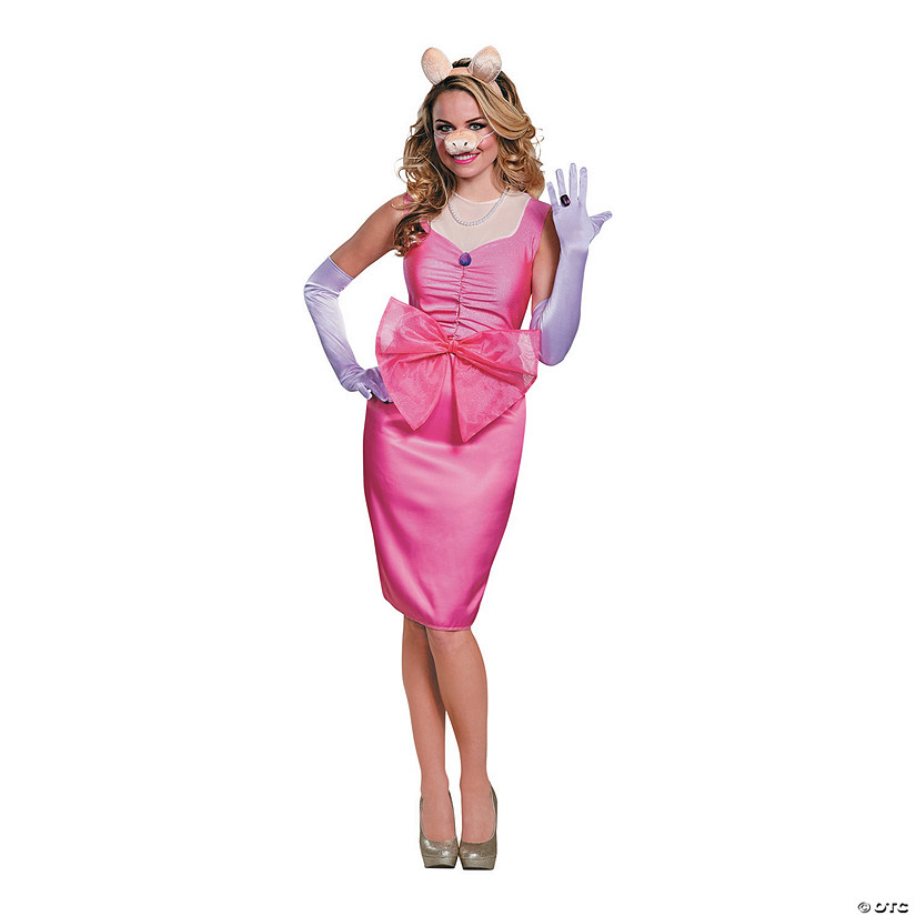 Women's Deluxe Miss Piggy Costume Audio Thumbnail