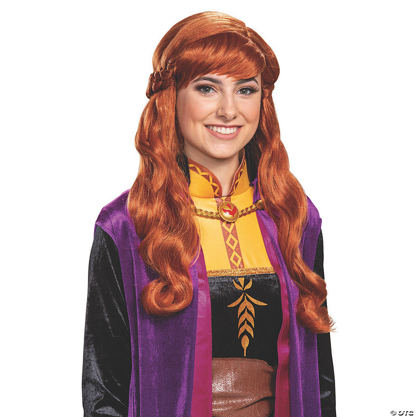 Women's Disney's Frozen II Anna Wig Audio Thumbnail