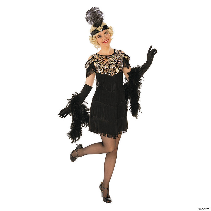 Women's Gold Flapper Costume Audio Thumbnail