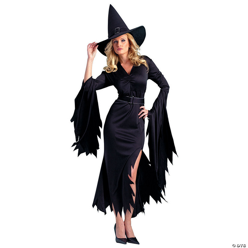 Women's Gothic Witch Costume Image Thumbnail