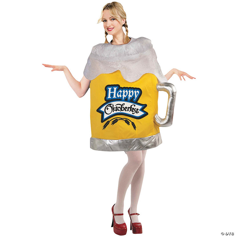 Women's Happy Oktoberfest Beer Mug Costume - Standard