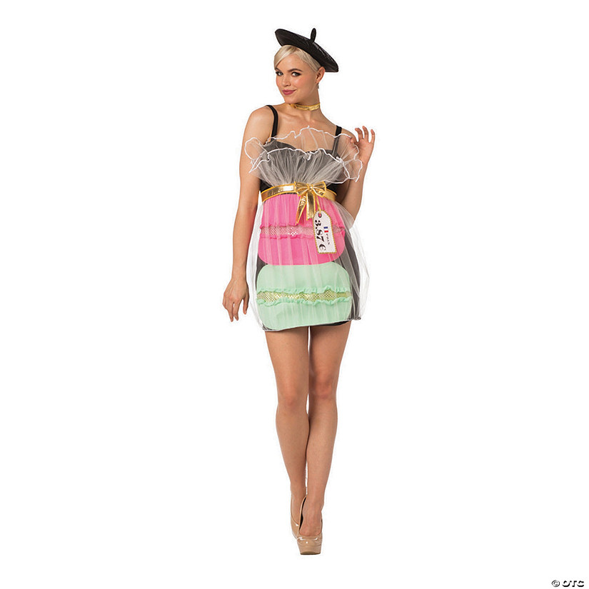 Women's Macaroon Costume - Extra Small/Small Audio Thumbnail