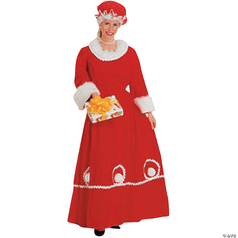 Women's Mrs. Klaus Costume - Small