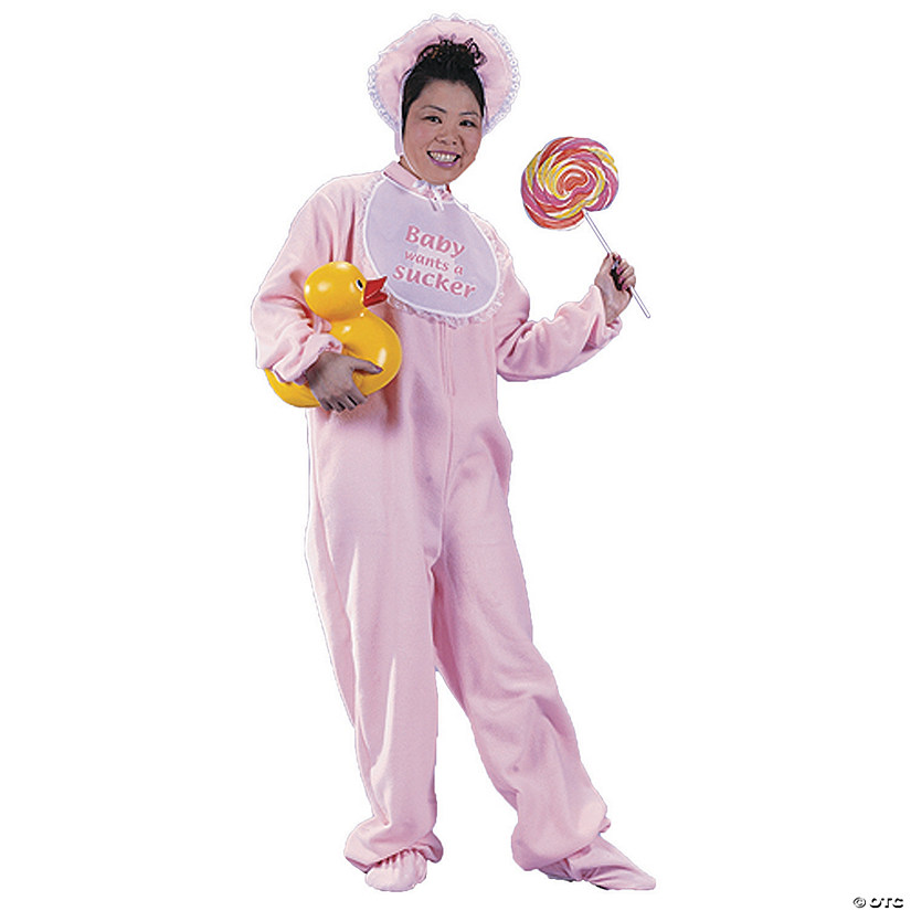 Women's Pink Be My Baby Costume - Standard