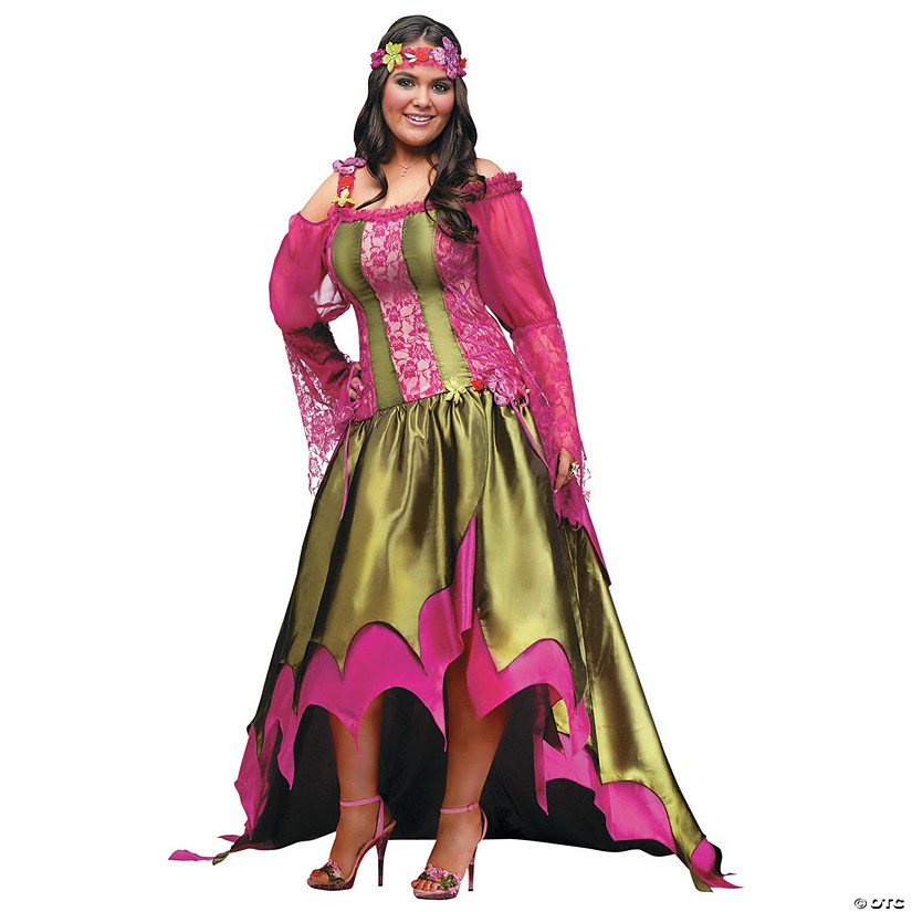 Women's Plus Size Fairy Queen Costume - XXL