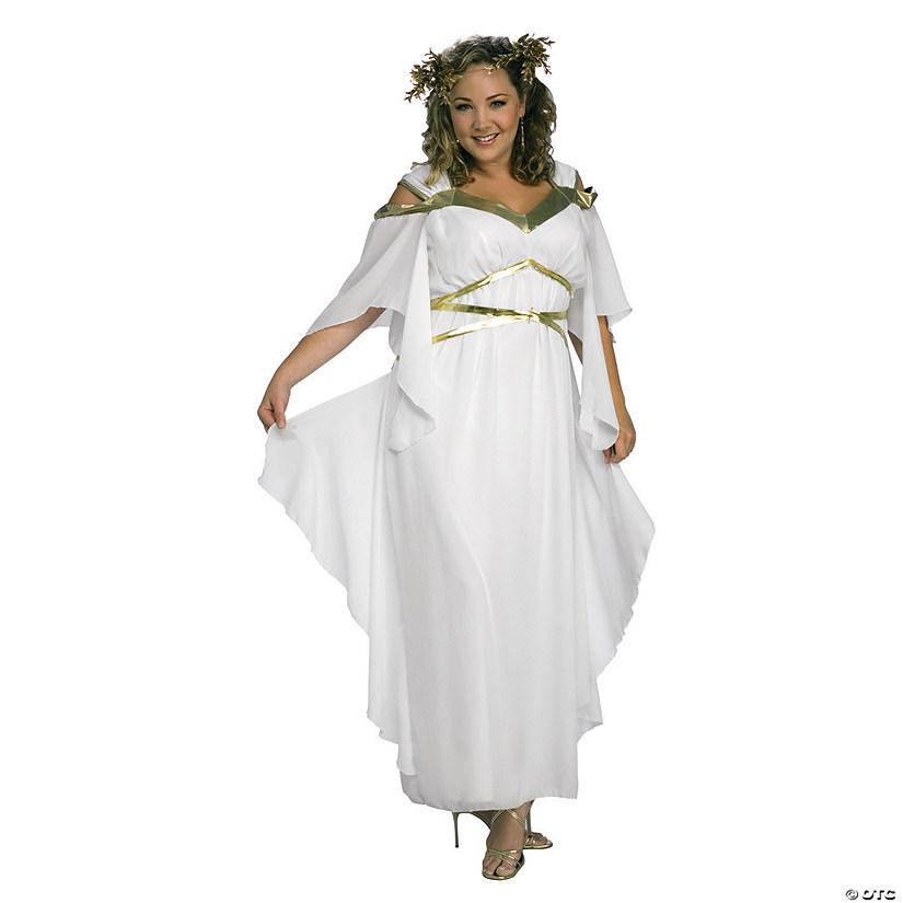 Women\'s Plus Size Roman Goddess Costume - XXL