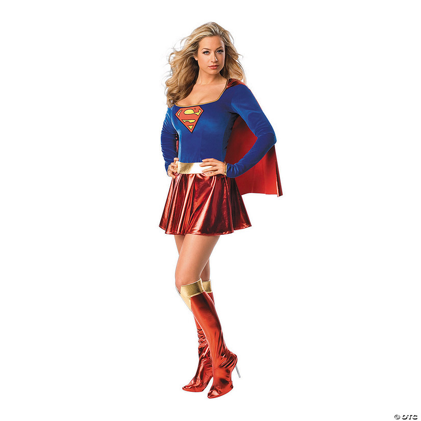 Women's Supergirl™ One-Piece Costume Audio Thumbnail