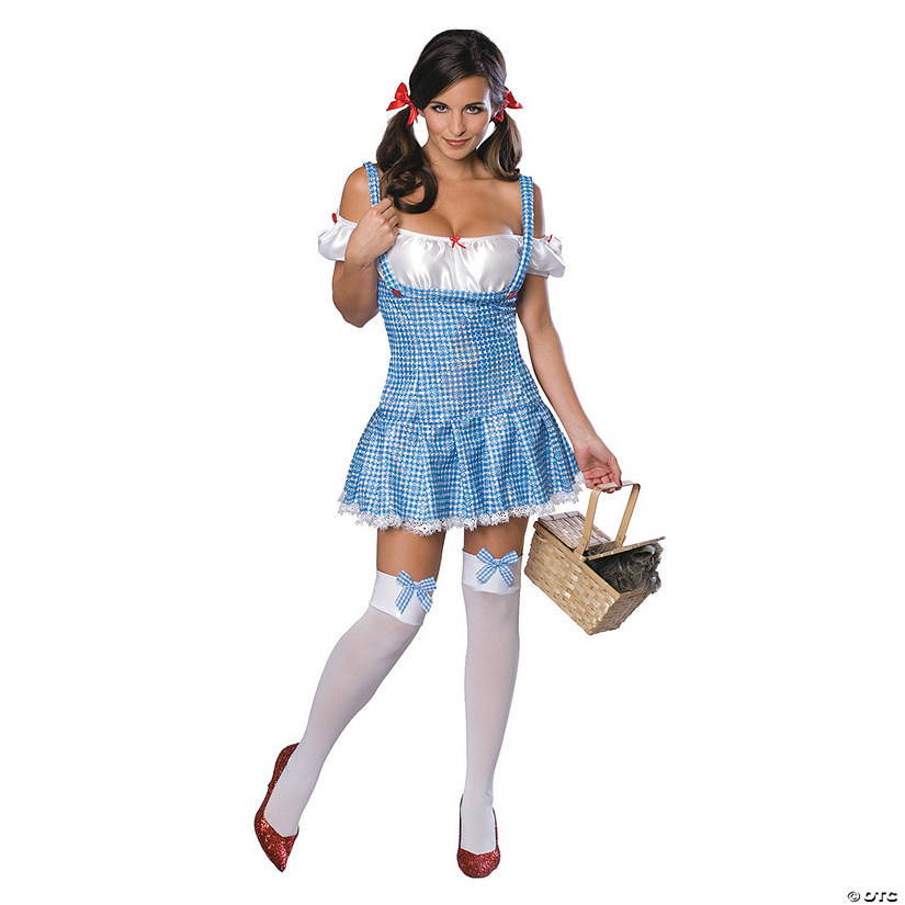 Women's Wizard of Oz Dorothy Costume - Large