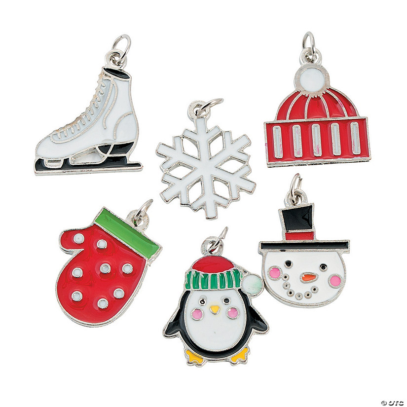 Wonderful Winter Enamel Charms Image Thumbnail