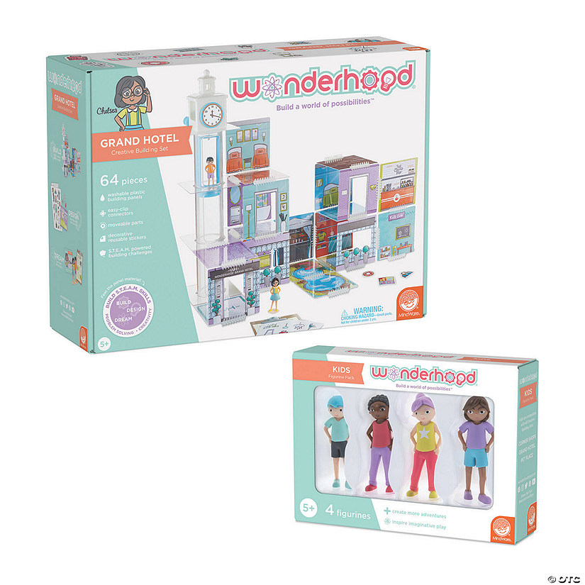 Wonderhood Grand Hotel with FREE Figurine Set Audio Thumbnail
