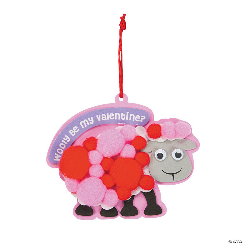 Wooly Be My Valentine Ornament Craft Kit Discontinued