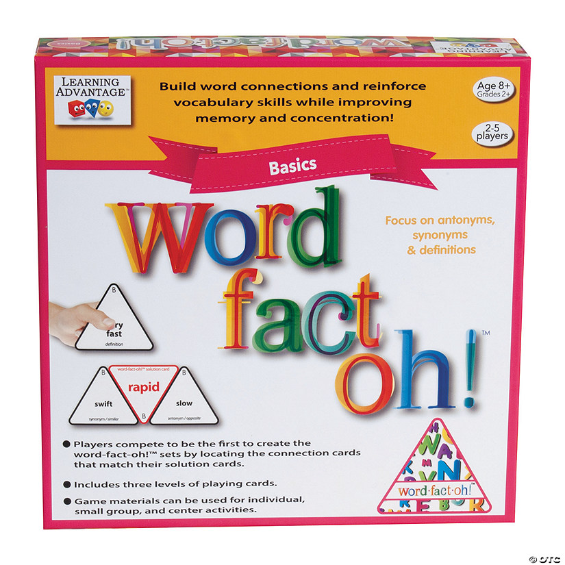 Word Fact Oh! Language Arts Game Audio Thumbnail