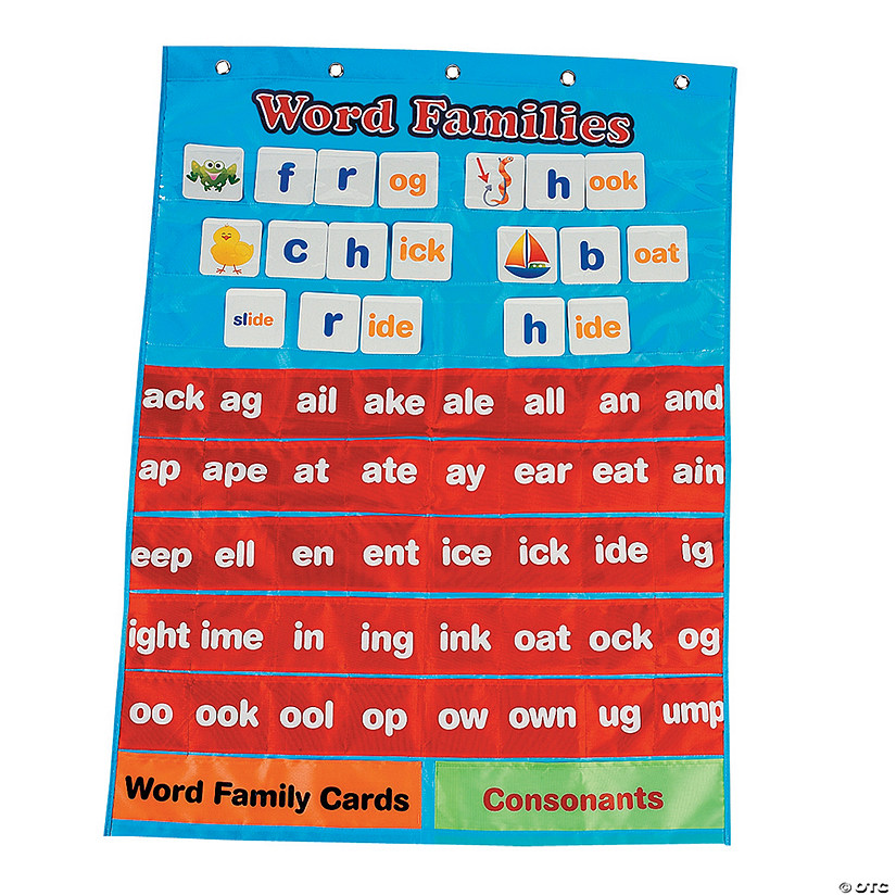 word families pocket chart discontinued