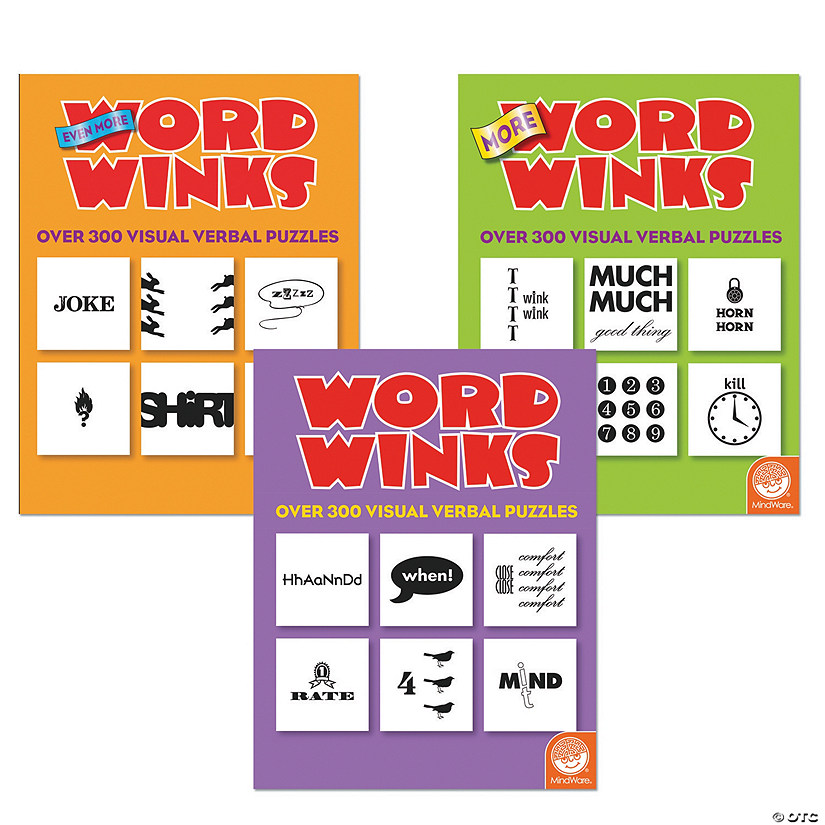 Word Winks: Set of 3