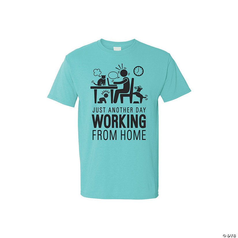 Work from Home Adult's T-Shirt Image Thumbnail