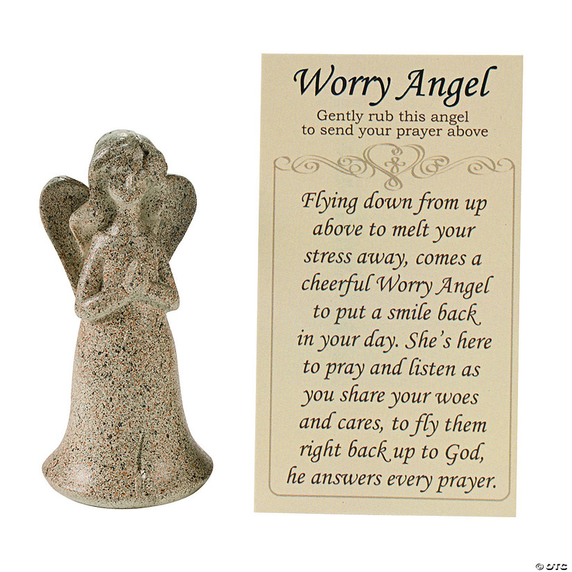 Worry Angels with Prayer Card Audio Thumbnail