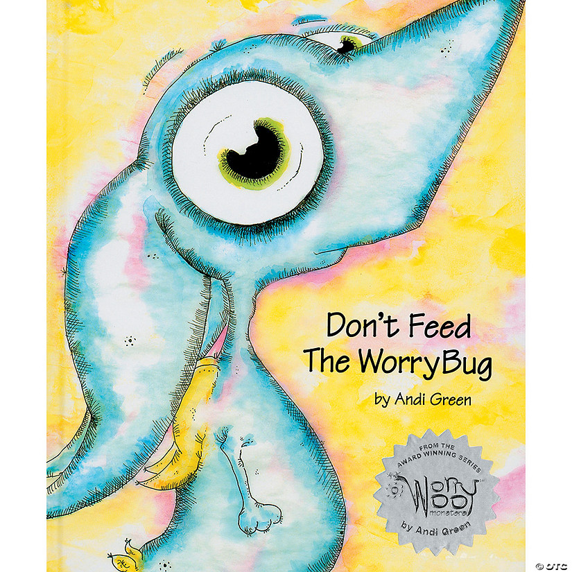 WorryWoo Monster Wince Storybook: Don't Feed the Worry Bug