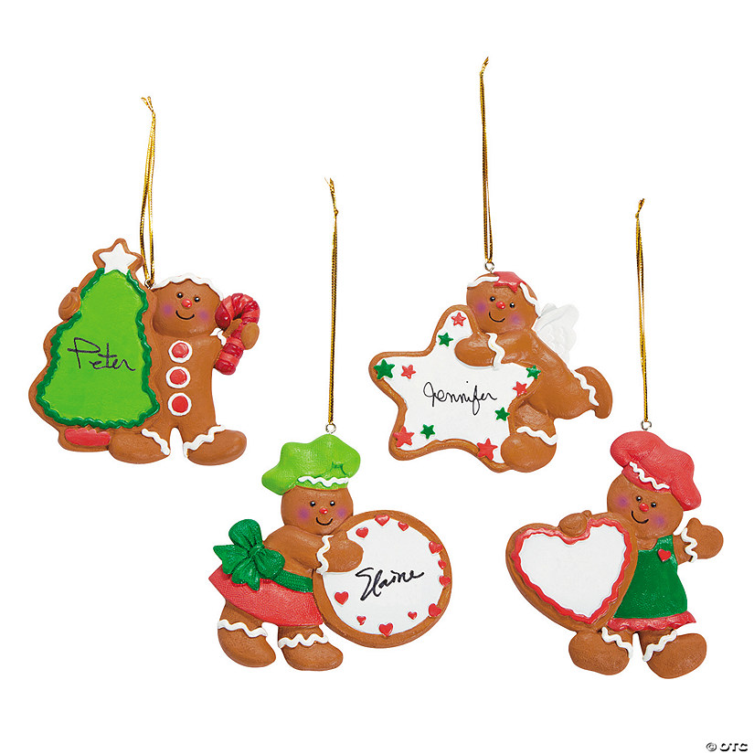 Write-A-Name Gingerbread Cookie Ornaments Audio Thumbnail