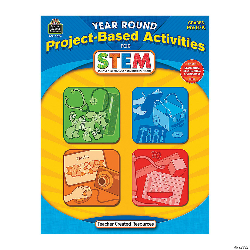 Year-Round Project-Based Activities for STEM - Pre K & K Audio Thumbnail