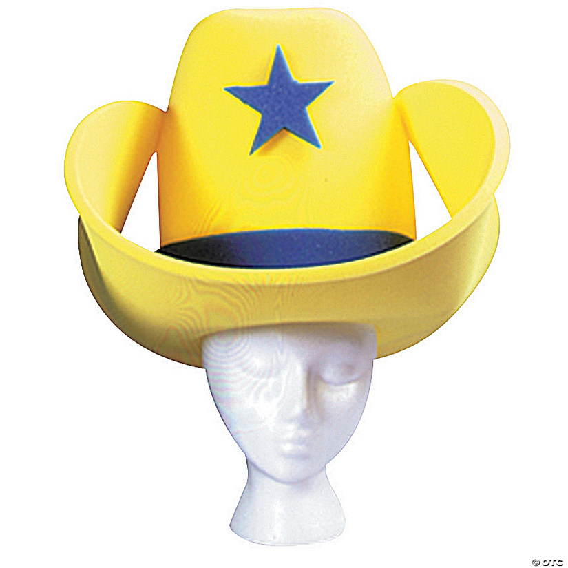 Yellow 40 Gallon Hat