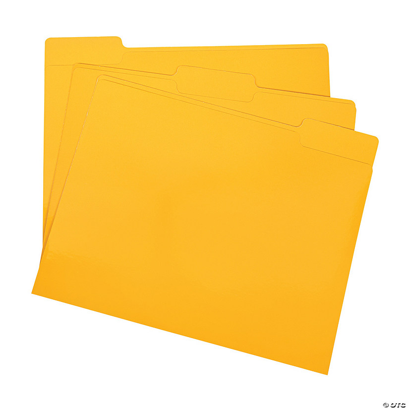 Yellow File Folders Audio Thumbnail