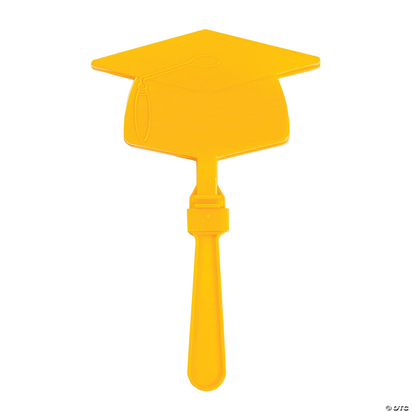 Yellow Graduation Mortarboard Clappers Audio Thumbnail