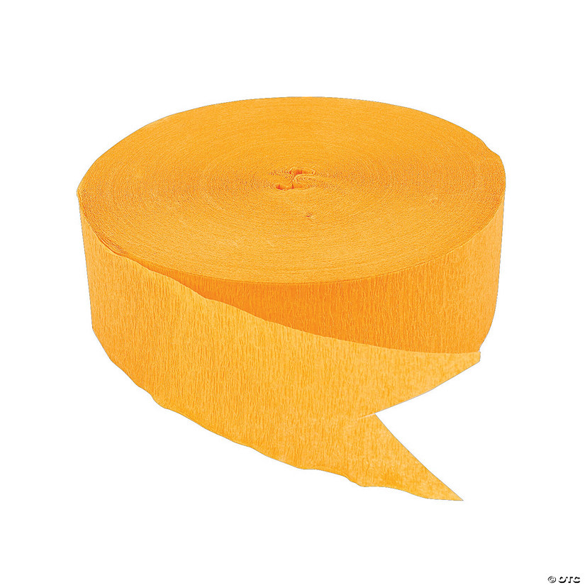 Yellow Jumbo Paper Streamer Audio Thumbnail