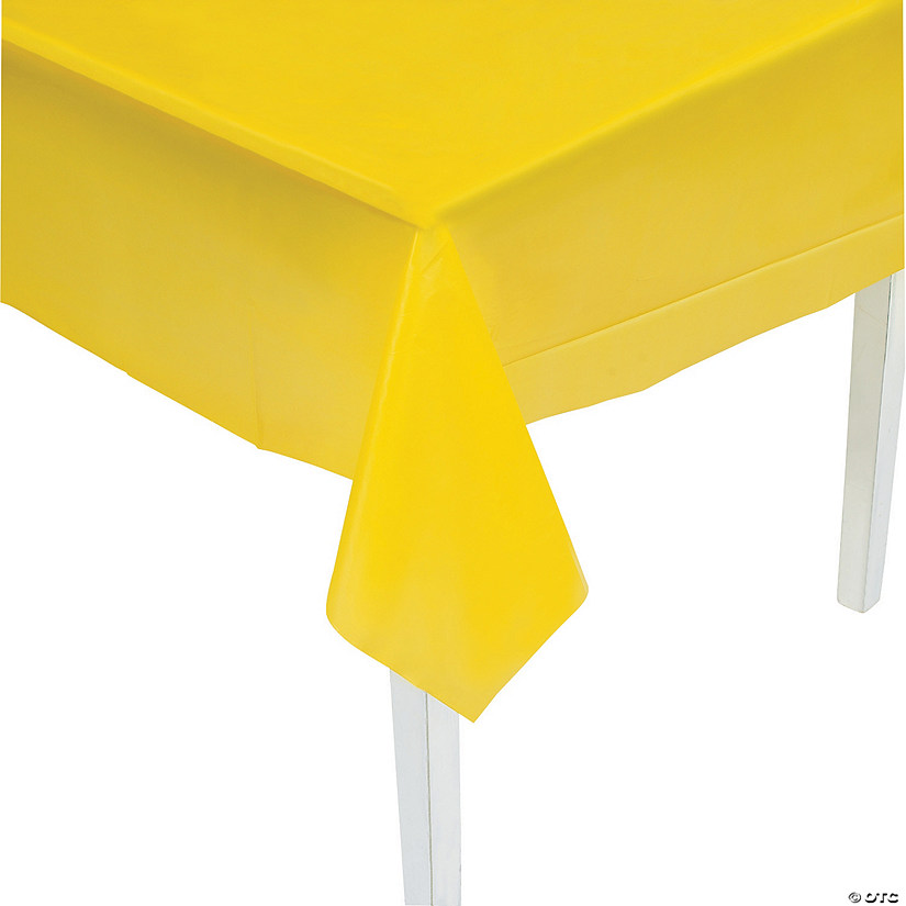 Yellow Plastic Tablecloth Audio Thumbnail