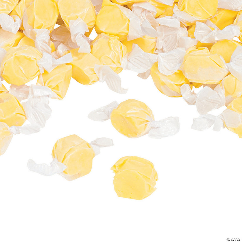 Yellow Salt Water Taffy Candy Image Thumbnail