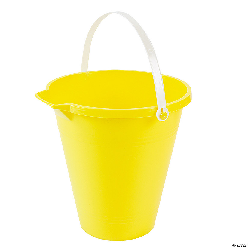 Yellow Sand Bucket